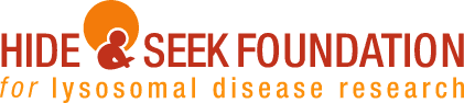 "<a href=""http://www.hideandseek.org/"">Hide &amp; Seek Foundation for Lysosomal Disease Research</a>"